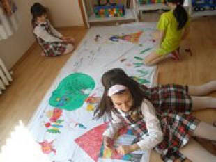 Най-голямата детска рисунка на света